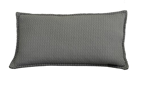 AM Home 0672 Diamond Texture Lumbar Pillow with
