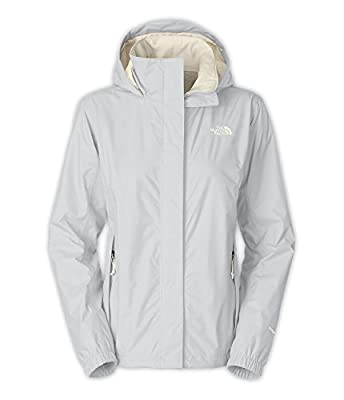 The North Face Resolve Jacket Women's High Rise Grey/Gardenia White XL