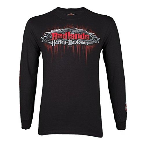 - Harley-Davidson Badlands Men's Edge Long Sleeve Shirt (2XL)