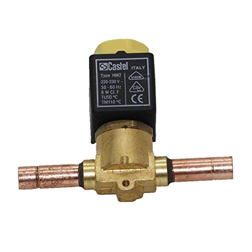 Castel Solenoid Valve 1068-3A6,New in Box One Year Warranty!