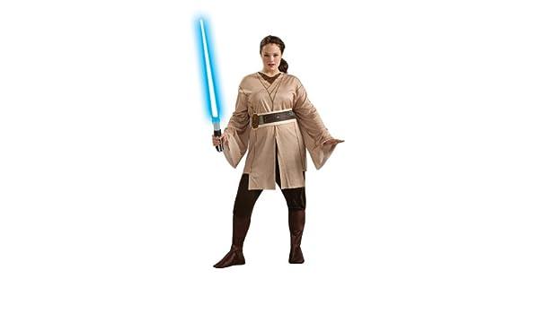 Rubies Costume Co 17512 Mujer Traje Jedi: Amazon.es: Juguetes y juegos