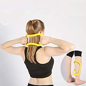 Acutty Yoga Ring Resistance Training Full Body Fitness Circle Soporte Tool Pull Strength Pilates Rings