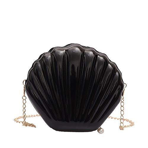 Pengy Woman Shell Bag Crossbody Chain Shoulder Bag Fashion Bag Fashion Messenger Bag Ladies Backpack
