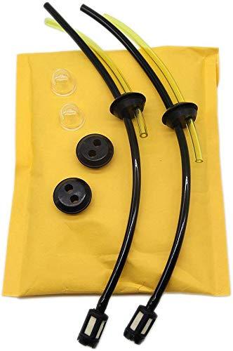 2ps Universal Kit de filtros de gasolina Tubo Sello para ...