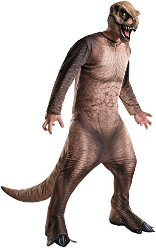 Rubie's Costume Co Men's Jurassic World T-Rex Costume, Multi, X-Large