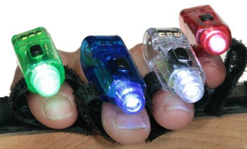 40 Super Bright Finger Flashlights – LED Finger Lamps – Rave Finger Lights, Outdoor Stuffs