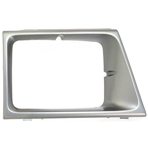 (Headlight Door compatible with Ford Econoline Van 92-96 RH Argent)