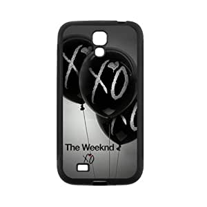 Galaxy S4 Case- Compatible With Samsung Galaxy S4 SIV i9500- XO The Weeknd S4 TPU Rubber Cover Case Shell