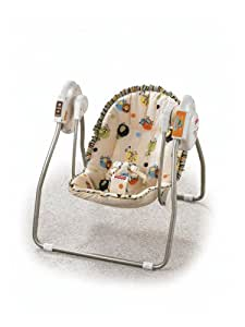 Fisher-Price Open Top Take-Along Swing - Scribble Safari