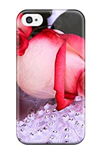Evelyn C. Wingfield's Shop Hot Anti-scratch And Shatterproof Flower Phone Case For Iphone 4/4s/ High Quality Tpu Case