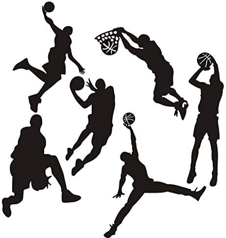 Easma Basketball Sticker Nursery Decor 7 88 product image
