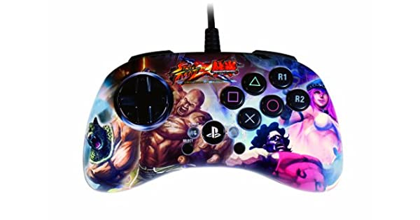 Mad Catz Street Fighter X Tekken FightPad S.D. - Volante/mando (Mando de juegos, Playstation 3, Con cables, USB 2.0, 3 m, Múltiple): Amazon.es: Videojuegos