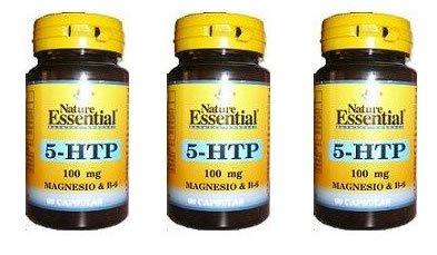 Triptófano (5-htp 100 mg.) 60 cápsulas con magnesio y ...