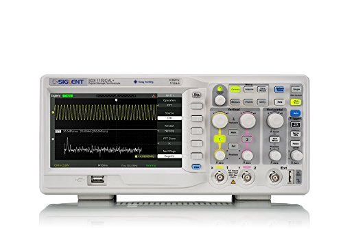 Siglent Technologies SDS1102CML+ Digital Storage Oscilloscope, 100 - Digital Analog Oscilloscope
