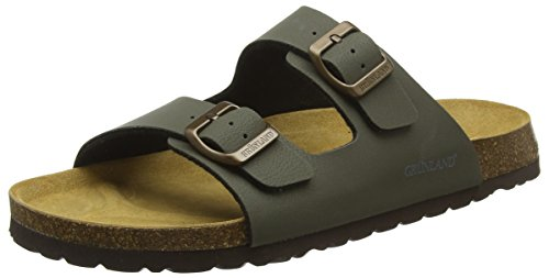 Grunland Men's Bobo Beach and Pool Shoes Green (Oliva Oliv) huuZjKRrA