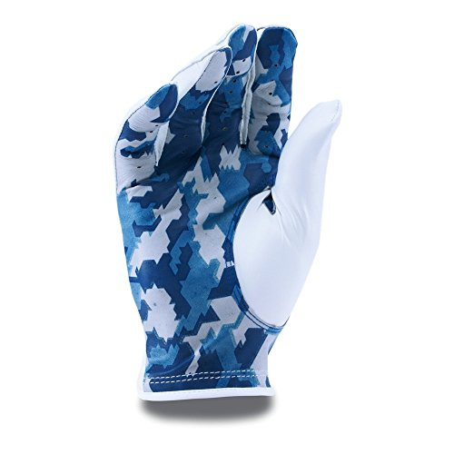 Under Armour Men's UA Camo StrikeSkin Golf Glove Left Hand Large White