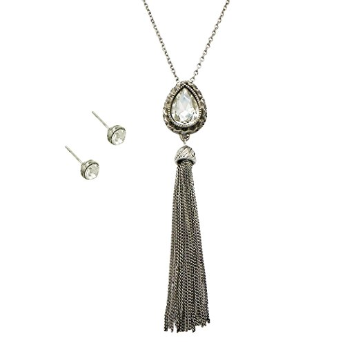 rosemarie-collections-womens-fashion-jewelry-set-crystal-teardrop-and-tassel-pendant-long-necklace-s