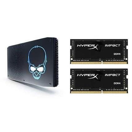 Intel NUC8 VR Machine Mini PC Kit NUC8i7HVK with Radeon RX Vega M Graphics & Samsung 970 EVO 500GB - NVMe PCIe M.2 2280 SSDBundle