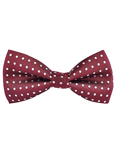 Closure cm Fashion Tied 12 Men's No 6 Adjustable Hook Bowtie with Pre 06 5 xqYUPBwFU