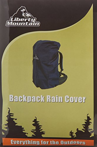 Liberty Mountain Backpack Rain Cover (Colors May Vary) by Liberty Mountain