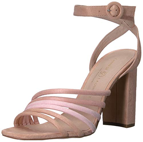 Chinese Laundry Women's Jonah Heeled Sandal, Blush Multi Suede, 8 M US