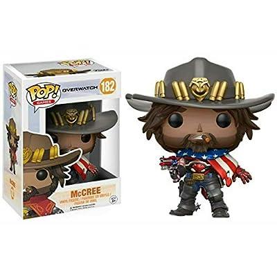 POP! Games: Overwatch USA McCree Exclusive Vinyl Figure: Toys & Games