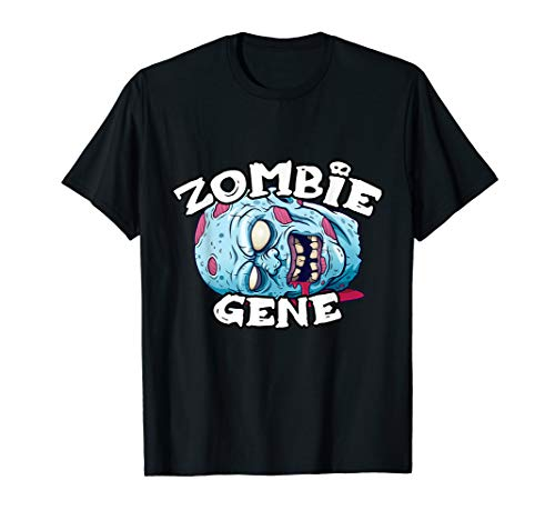 Gene Grey Halloween Costumes - Zombie GENE T-Shirt Halloween Simple Costume