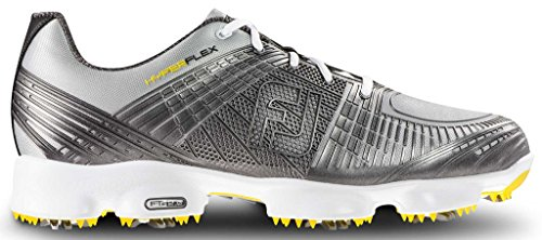 FootJoy Men's Hyperflex II-Previous Season Style Golf Shoes Silver 8.5 M US