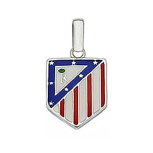 Colgante escudo Atlético de Madrid Plata de ley 16mm. esmaltado [7047] - Modelo: 20-016