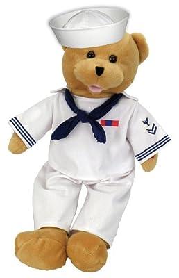"Chantilly Lane 19"" American Hero Navy Bear Sings ""Anchors Aweigh"" from Chantilly Lane"