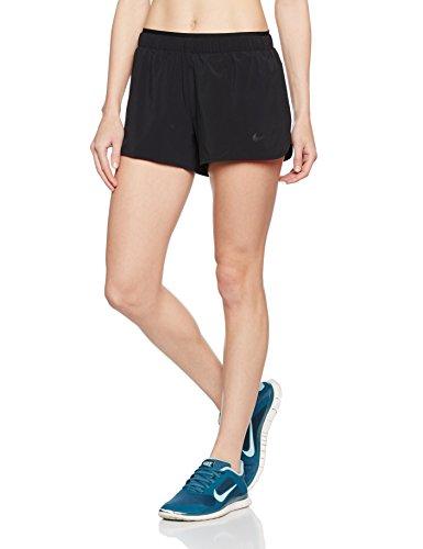 Nike Women's Full Flex 2 In 1 2.0 Running Shorts - SP16 - X Large - Black