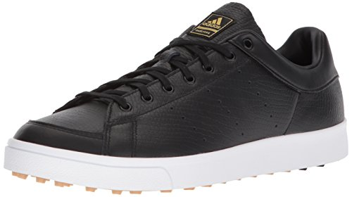 adidas Men's Adicross Classic Golf Shoe core Black FTWR White, 10.5 Medium US
