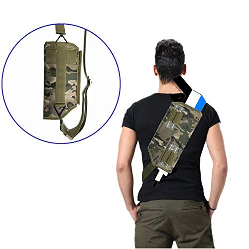 Binpure Camouflage Color Carrying Bag Crossbody Bag for Insect Eradication Bug-A-Salt Camofly Version 2.0£¬Can Be Hung On A Belt (Camouflage)