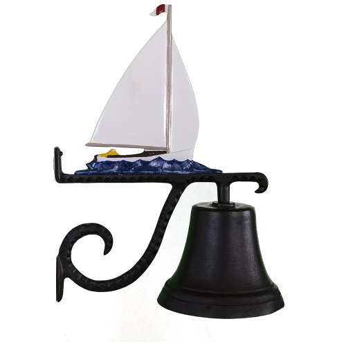 Montague Metal Products Cast Bell with Color Sailboat Review
