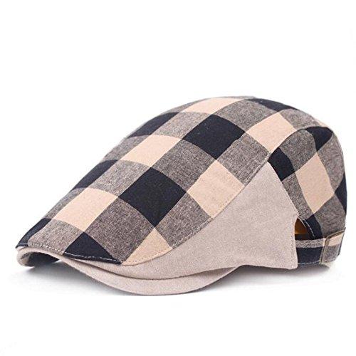 Impresion 1 PCS Sombreros Boina Boina de Malla Transpirable Sombreros de Hombres Sombrero de Mujer Casual Outing Hat… 2f9Tbv