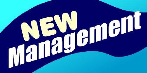 - 3x6 Vinyl Banner - New Management Ribbon