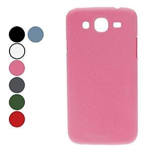 Solid Color Hard Case for Samsung Galaxy Mega 5.8 I9152 (Assorted Colors) --- COLOR:Pink