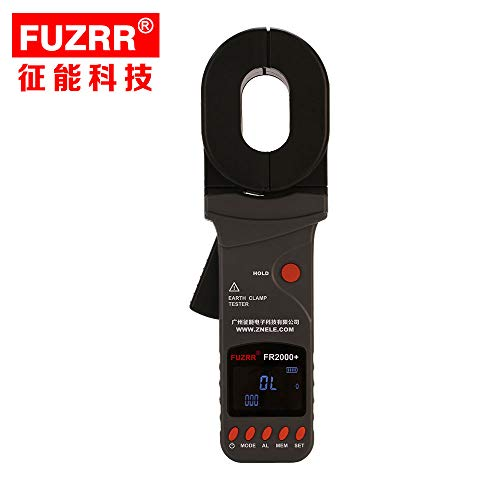 FR2000+-0.01-500ohm Clamp Earth Resistance Tester/Meter,earth ground tester,GEO - Clamp Earth