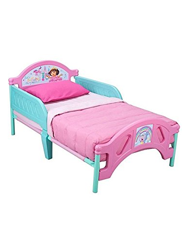 Dora the Explorer Toddler Bed - colors as shown, one size by Nickelodeon