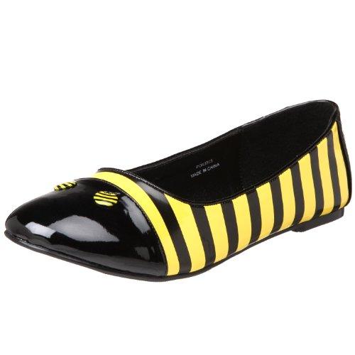 Womens Bumble Bee Shoe Flats (Size 5)