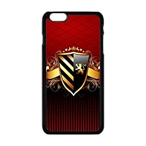 LJF phone case Creative Shield Pattern Custom Protective Hard Phone Cae For Iphone 6 Plus