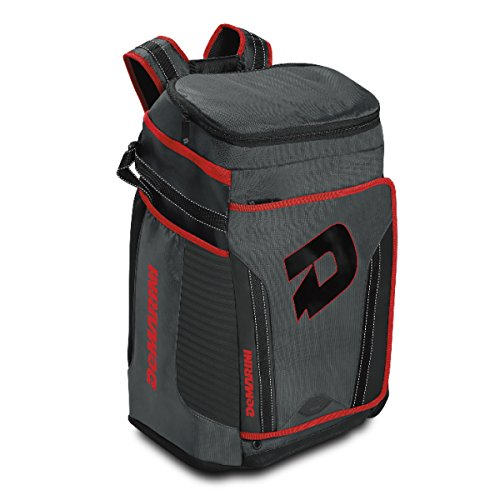 DeMarini Special Ops Backpack, Charcoal/Scarlet -