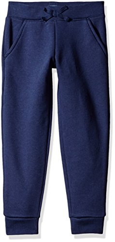 The Children's Place Little Girls' Gym Uniform Skinny Fleece Pant, Tidal, Small/5/6
