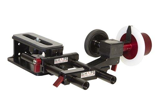 形状摩擦& Gear follow-focusライザーレールキットを調節可能なマーカー   B00I9AGAYS
