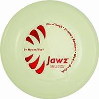 Hyperflite Jawz Pup World Toughest Competition Disco para perros Resistente a las perforaciones Frisbee 7 pulgadas Resplandor en la oscuridad