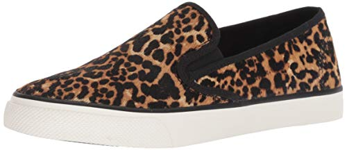 Top Multi Sperry Tan sider Seaside Women's Leopard Sneaker vPOvwZgqUx