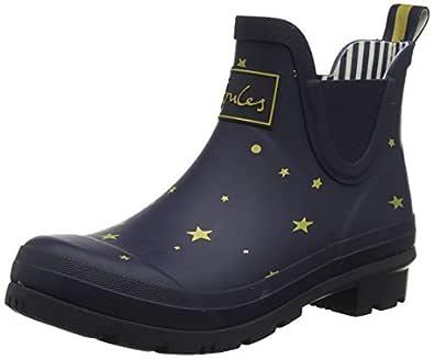 Joules Women's Wellibob Wellington Boots, Blue (Star Gazing Stargaze), 3 UK (36 EU)