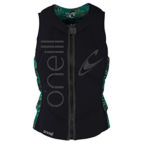 O'Neill Wetsuits Women's Slasher Comp Vest, Glide Black/Faro,, used for sale  Delivered anywhere in USA