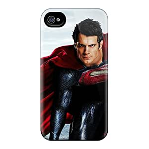 Awesome Man Of Steel Henry Cavill Flip Case With Fashion Design For Iphone 4/4s