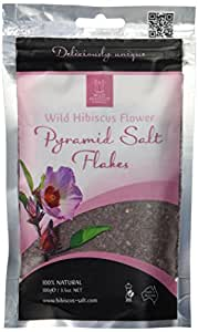 Wild Hibiscus Flower Pyramid Salt Flakes 3.5 Ounce